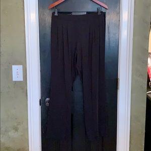 Nicole Miller black soft leggings pants large